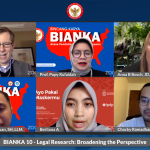 Webinar Bincang Karya or BIANKA on Legal Research Broadening the Perspective