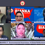 Webinar Bincang Karya or BIANKA on Environmental Awareness