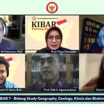 Webinar KIBAR on Geography, Geology, Chemistry & Biochemistry