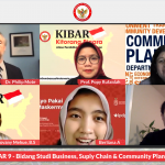 Webinar KIBAR on Business, Supply Chain & Community Planning